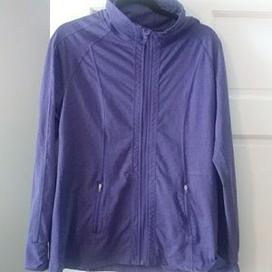 Tops - Zip up athletic pullover
